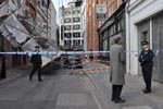 Incident on Dering Street, London